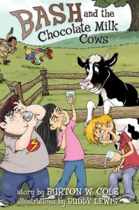 Bash and the Chocolate Milk Cows book cover