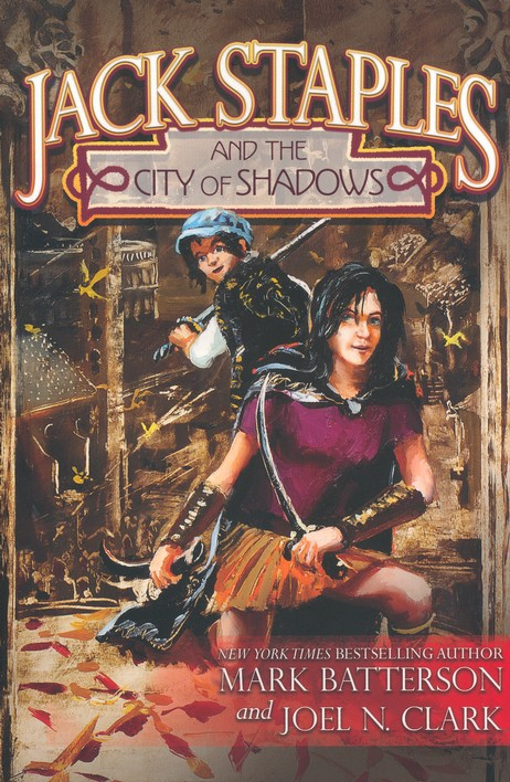 Jack Staples and The City of Shadows book cover