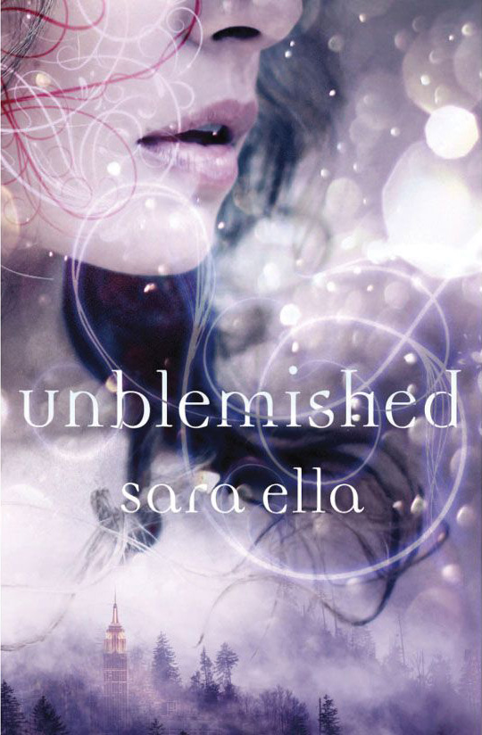 Unblemished book cover